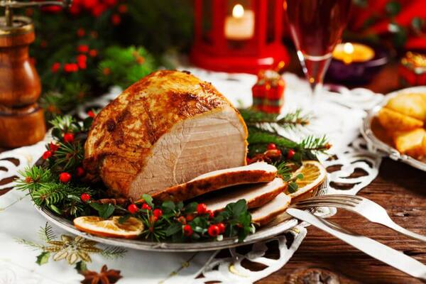 peru de natal gostoso