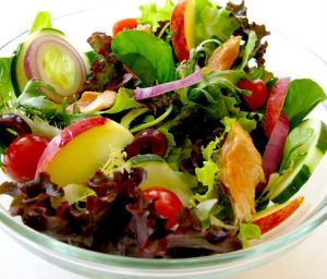 salada tropical simples